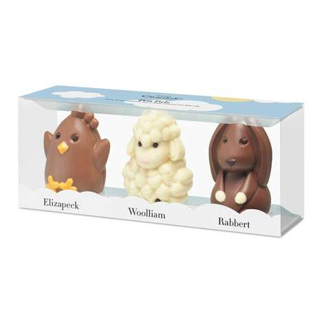 Animal-Inspired Festive Chocolates