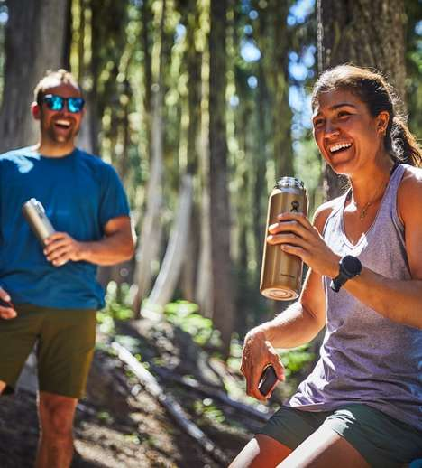 Lightweight Hiker Water Bottles