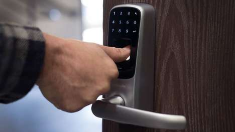 Biometric Door Security Handles