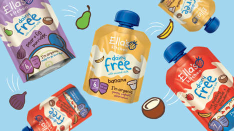 Dairy-Free Baby Food Pouches