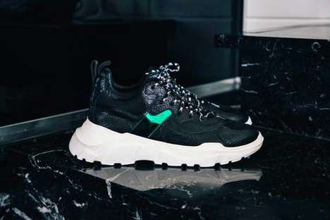 Striking Tonal Chunky Footwear