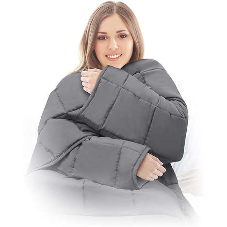 Wearable Stress-Relieving Bedding