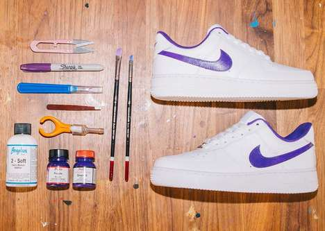 DIY Sneaker Customization Kits