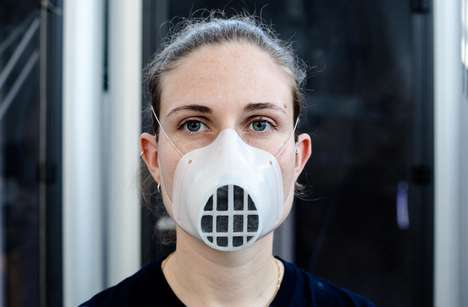 Open-Source 3D Replaceable Masks