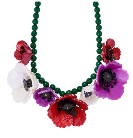 Botanical Statement Necklaces
