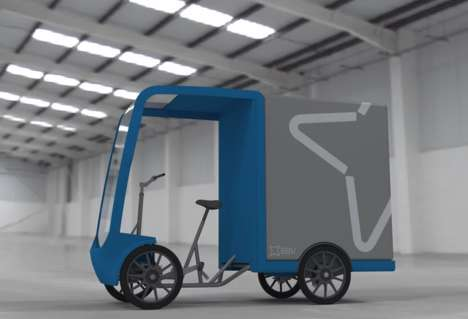 Modular Quadricycle Cargo Vehicles