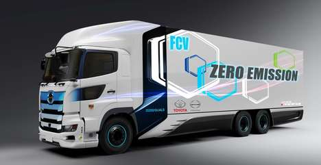 Zero-Emissions Shipping Trucks