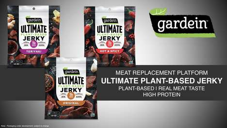 Smoked Plant-Based Jerky Snacks