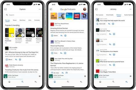 Optimized Podcast App Releases