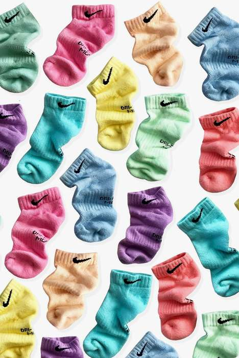Tie-Dye Sports Socks