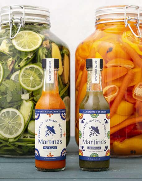 Probiotic-Rich Hot Sauces