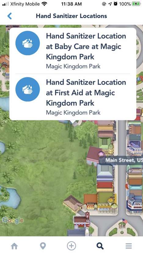 Virus Control Park Apps