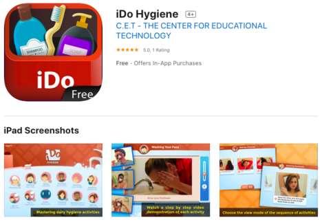 Hygiene-Reinforcing App Platforms