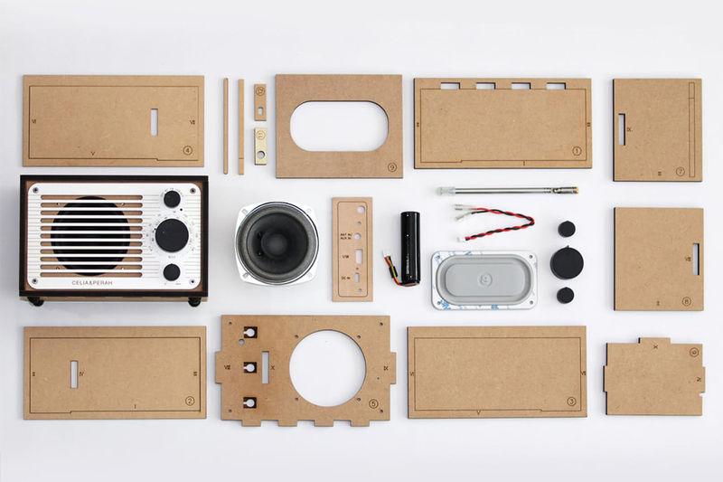 DIY Wireless Speaker Kits : Celia & Perah DIY Bluetooth
