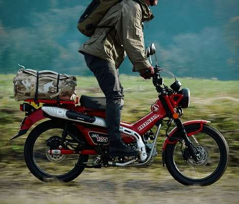 Adventurer Gear-Toting Motorcycles
