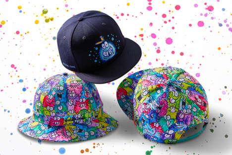 Artistic Monster-Themed Hats