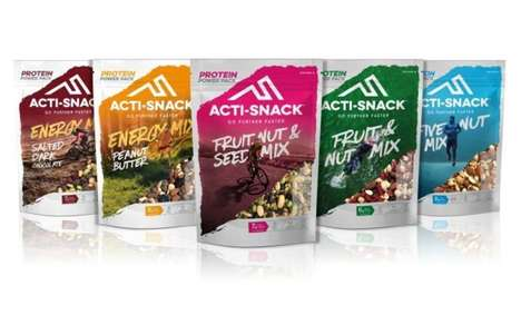 Active Lifestyle Snack Mixes