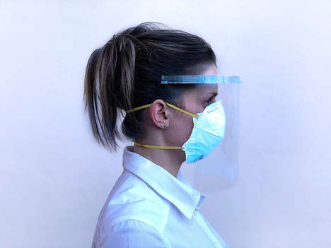 3D-Printed Face Shields