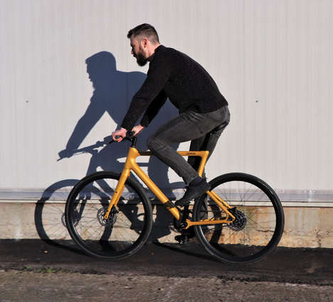 3D-Printed Electric Commuter Bikes