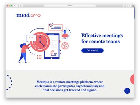 Asynchronous Meeting Platforms