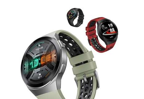 Sporty AMOLED Display Smartwatches