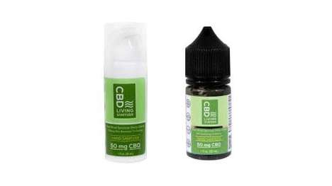 Hemp-Powered Hand Sanitizers