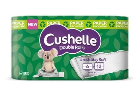 Plastic-Free Toilet Paper Packaging