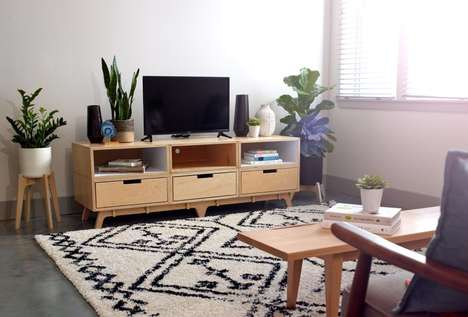 Modular Easy-To-Assemble Furniture