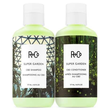 Calming CBD Shampoos