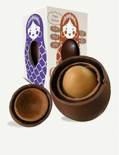 Nested Chocolate Eggs
