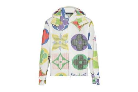 Luxe Colorful Monogram Outerwear
