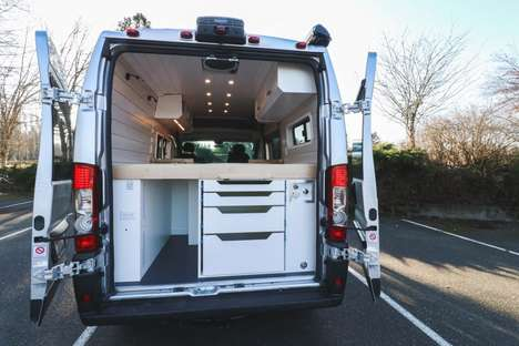 Nomadic 4G-Enabled Camper Vans
