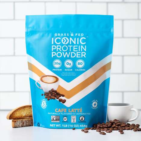 Caffeine-Packed Protein Powders