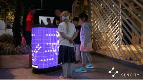 AI-Powered Interactive Trash Cans
