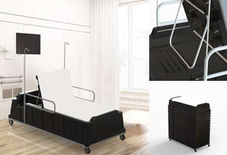 Low-Cost Emergency Beds