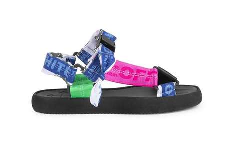 Repurposed Belt Summertime Footwear