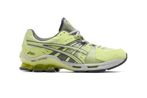 Vivid Yellow Casual Sneakers