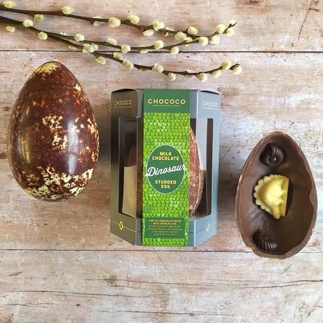 Dinosaur Egg Easter Treats