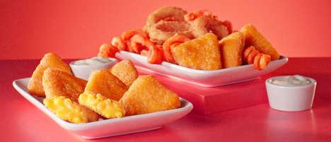 Cheesy Deep-Fried Macaroni Snacks