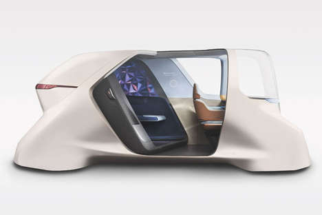 Autonomous Rideshare Vehicle Concepts