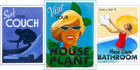 Re-Imagined Vintage Travel Posters