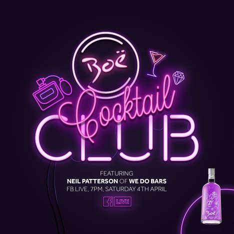 Virtual Cocktail Clubs