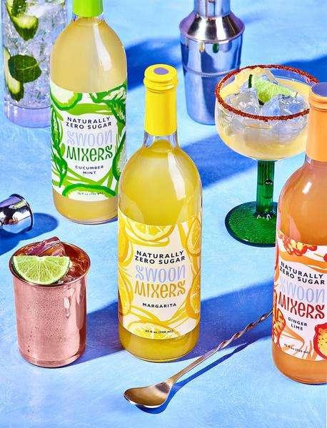 Zero-Sugar Cocktail Mixers