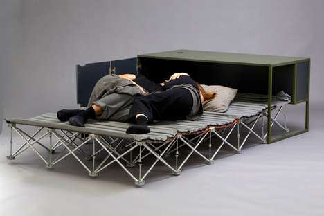 Hybrid Convertible Workstation Beds