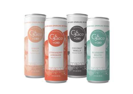 Fizzy CBD-Infused Drinks