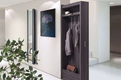 Pocket Door-Inspired Storage Systems
