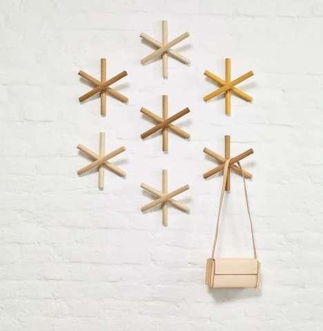 Scrap Wood Coat Hangers