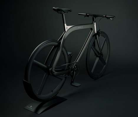 Handcrafted Carbon Monocoque Bicycles