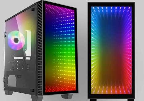 Infinity Mirror PC Cases
