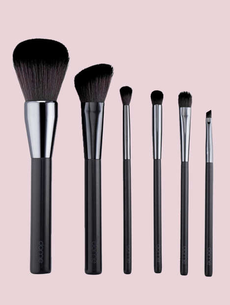 Charcoal-Infused Beauty Brushes